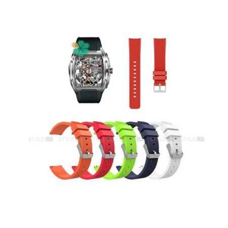 خرید بند سیلیکونی ساعت شیائومی Xiaomi Ciga Design طرح گلکسی