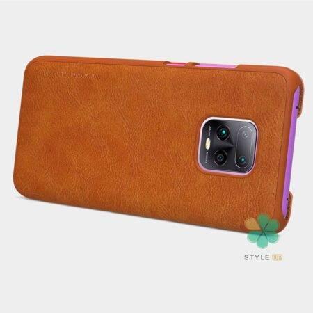 خرید کیف چرمی نیلکین گوشی شیائومی Xiaomi Redmi 10X Pro 5G