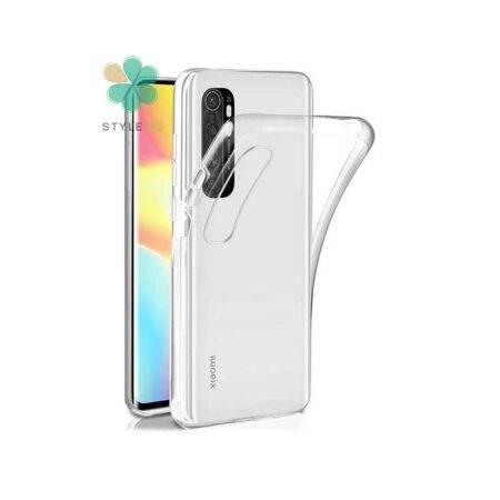 خرید قاب گوشی شیائومی Xiaomi Mi Note 10 Lite مدل ژله ای شفاف