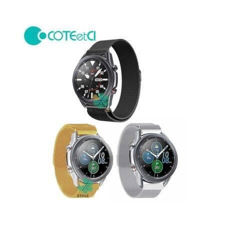 خرید بند میلانس ساعت سامسونگ Galaxy Watch 3 45mm برند COTEetCI