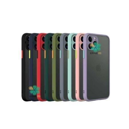 خرید قاب گوشی آیفون Apple iPhone 11 Pro مدل پشت مات محافظ لنزدار