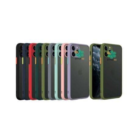 خرید قاب گوشی آیفون Apple iPhone 12 Pro مدل پشت مات محافظ لنزدار