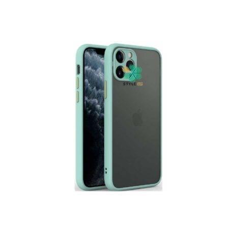 خرید قاب گوشی آیفون iPhone 12 Pro Max مدل پشت مات محافظ لنزدار