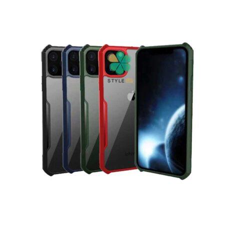 خرید قاب گوشی ایفون iPhone 11 Pro Max مدل ضد ضربه دور رنگی