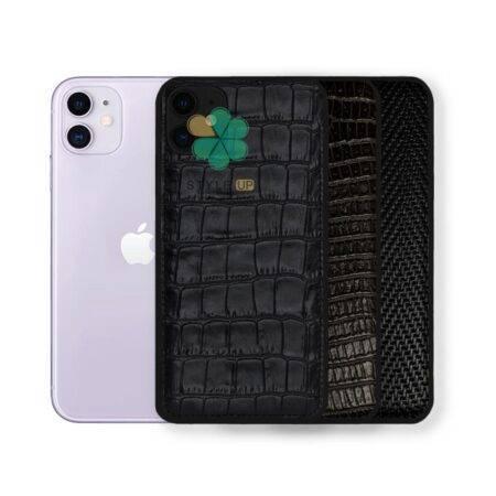 خرید قاب چرمی گوشی ایفون Apple iPhone 12 طرح Crocodile Skin
