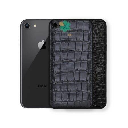 خرید قاب چرمی گوشی ایفون Apple iPhone 7 / 8 طرح Crocodile Skin