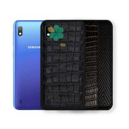 خرید قاب چرمی گوشی سامسونگ Samsung Galaxy A10 طرح Crocodile Skin