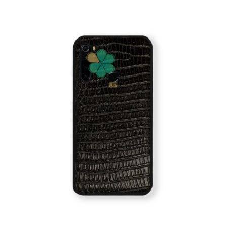 خرید قاب چرمی گوشی شیائومی Xiaomi Redmi Note 8 طرح Crocodile Skin