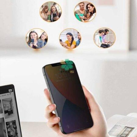 عکس محافظ گلس پرایوسی گوشی آیفون Apple iPhone 12 Pro