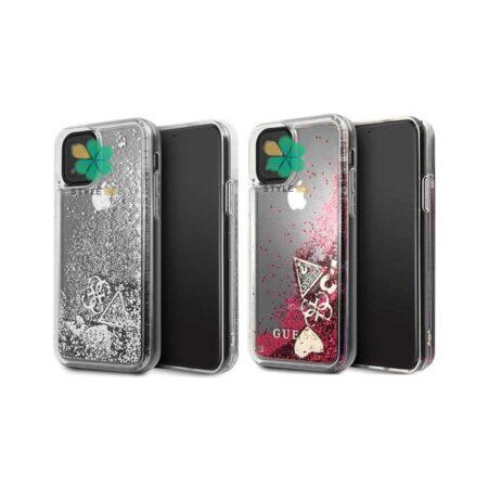 خرید قاب برند Guess گوشی آیفون iPhone 12 Pro Max مدل Shiny Glitter