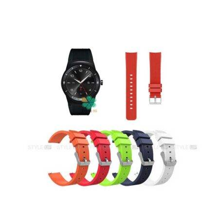 خرید بند سیلیکونی ساعت ال جی LG G Watch R W110 طرح گلکسی