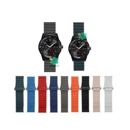 خرید بند چرمی ساعت ال جی LG G Watch R W110 مدل Leather Loop