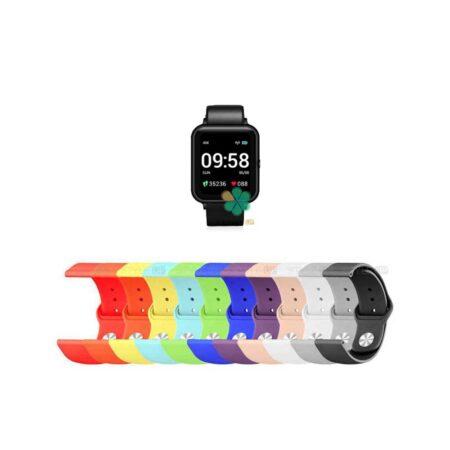 خرید بند سیلیکونی ساعت لنوو Lenovo S2 Smartwatch مدل دکمه ای