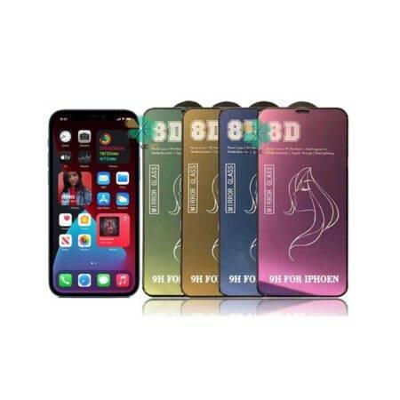خرید محافظ صفحه گلس گوشی آیفون iPhone 12 Pro Max مدل آینه ای