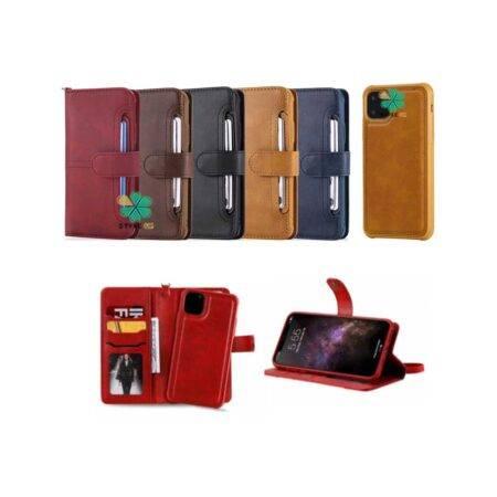 خرید کیف و قاب چرمی گوشی اپل آیفون Apple iPhone 12 Mini مدل JDK