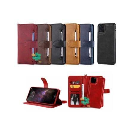 خرید کیف و قاب چرمی گوشی اپل آیفون Apple iPhone 12 Pro مدل JDK