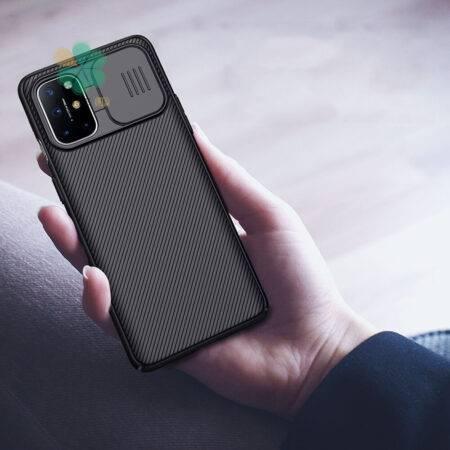 عکس قاب محافظ نیلکین گوشی وان پلاس OnePlus 8T مدل CamShield