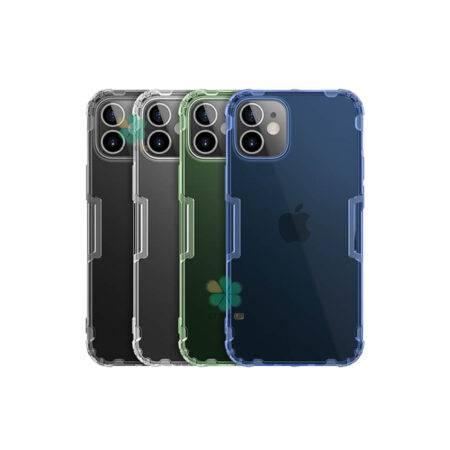 خرید قاب ژله ای نیلکین گوشی اپل آیفون iPhone 12 مدل Nature TPU