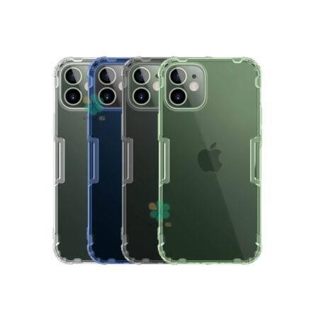 خرید قاب ژله ای نیلکین گوشی آیفون iPhone 12 Mini مدل Nature TPU