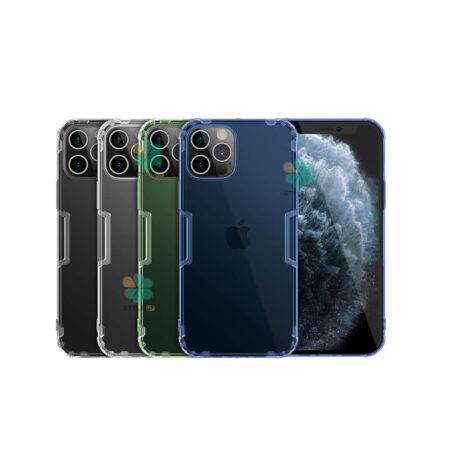 خرید قاب ژله ای نیلکین گوشی آیفون iPhone 12 Pro مدل Nature TPU