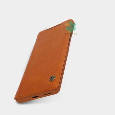 خرید کیف چرمی نیلکین گوشی هواوی Huawei Mate 40 Pro مدل Qin