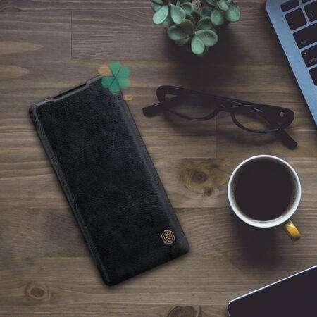 عکس کیف چرمی نیلکین گوشی هواوی Huawei Mate 40 Pro مدل Qin