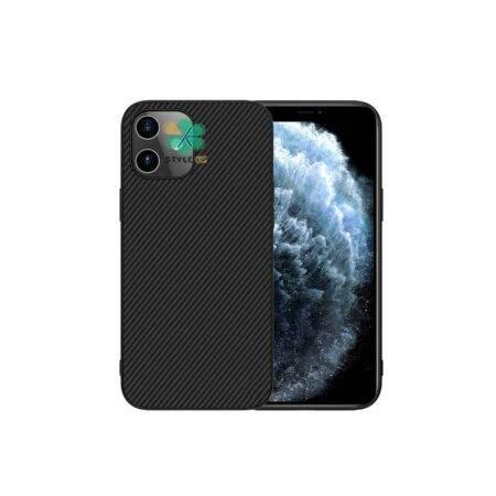 خرید قاب نیلکین گوشی آیفون iPhone 12 Mini مدل Synthetic Fiber