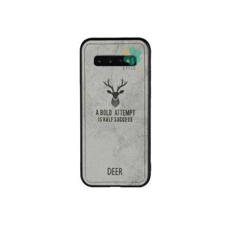 خرید قاب گوشی سامسونگ Samsung Galaxy S10 پارچه ای طرح گوزن