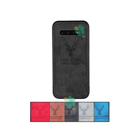 خرید قاب گوشی سامسونگ Galaxy S10 Plus پارچه ای طرح گوزن