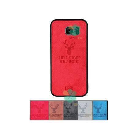 خرید قاب گوشی سامسونگ Samsung Galaxy S7 پارچه ای طرح گوزن