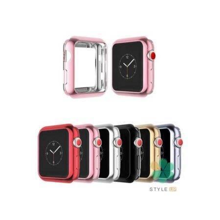 خرید کاور محافظ ساعت اپل Apple Watch 40mm مدل ژله ای