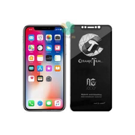 خرید گلس سرامیکی مات گوشی اپل Apple iPhone X / XS برند Mietubl