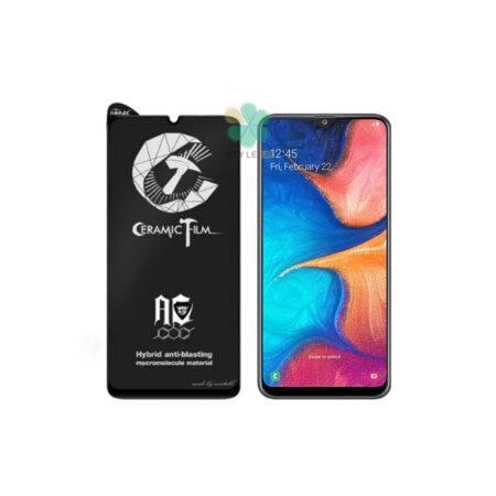خرید گلس سرامیکی مات گوشی سامسونگ Galaxy A20 برند Mietubl