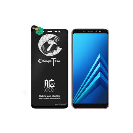 خرید گلس سرامیکی مات گوشی سامسونگ Galaxy A8 Plus 2018 برند Mietubl