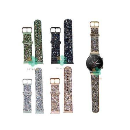 خرید بند اکلیلی ساعت هواوی Huawei Watch GT 2 Pro طرح سواروسکی