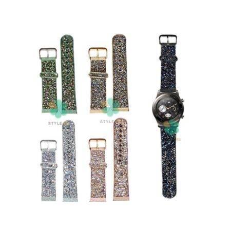 خرید بند اکلیلی ساعت هواوی Huawei Watch 2 Classic طرح سواروسکی