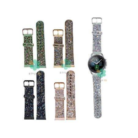 خرید بند اکلیلی ساعت سامسونگ Galaxy Watch 3 45mm طرح سواروسکی