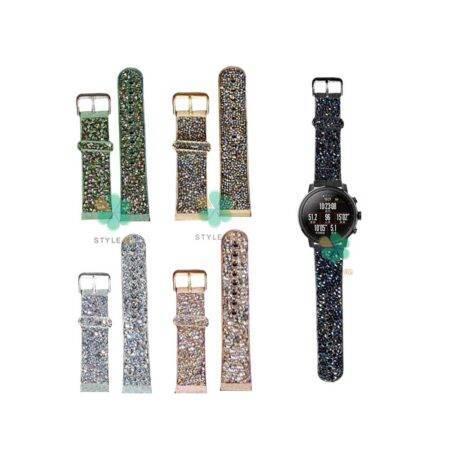خرید بند اکلیلی ساعت شیائومی Xiaomi Amazfit Stratos طرح سواروسکی