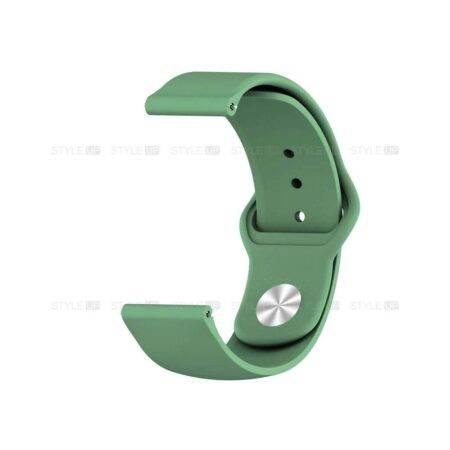خرید بند سیلیکونی ساعت شیائومی Xiaomi Amazfit GTR Lite مدل دکمه ای