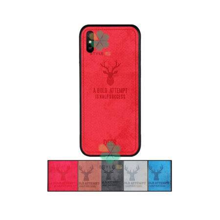 خرید قاب گوشی شیائومی Xiaomi Redmi 9A پارچه ای طرح گوزن