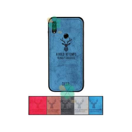 خرید قاب گوشی شیائومی Xiaomi Redmi Note 7 پارچه ای طرح گوزن