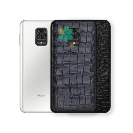 خرید قاب چرمی گوشی شیائومی Xiaomi Redmi Note 9 Pro / 9s طرح Crocodile Skin