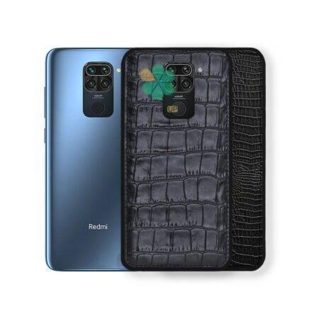 خرید قاب چرمی گوشی شیائومی Xiaomi Redmi Note 9 طرح Crocodile Skin