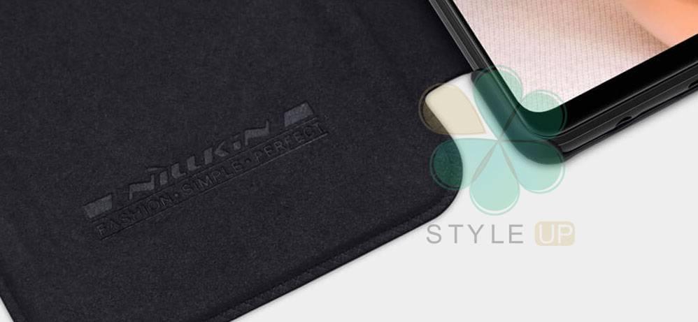 خرید کیف چرمی نیلکین گوشی سامسونگ Samsung Galaxy A42 5G مدل Qin