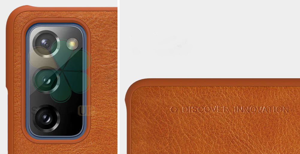 خرید کیف چرمی نیلکین گوشی سامسونگ Samsung Galaxy S20 FE 5G مدل Qin