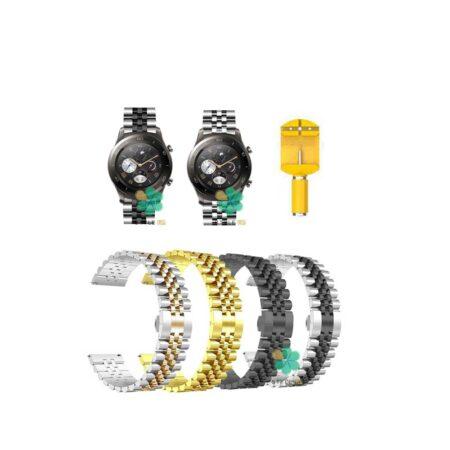 خرید بند فلزی ساعت هواوی Huawei Watch 2 Classic مدل 5Rows