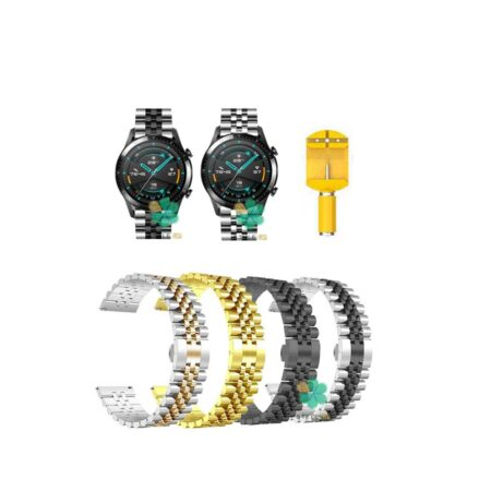 خرید بند فلزی ساعت هواوی Huawei Watch GT 2 46mm مدل 5Rows