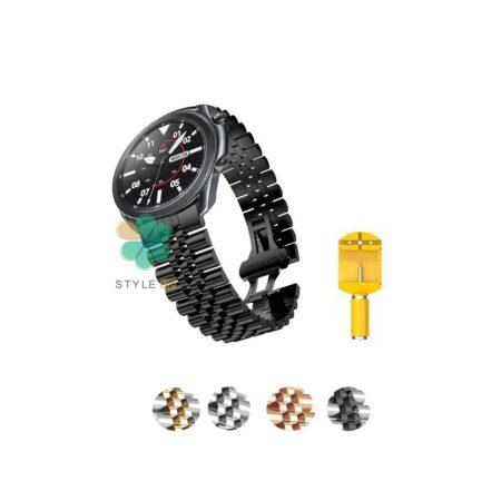 خرید بند فلزی ساعت سامسونگ Samsung Galaxy Watch 3 45mm مدل 5Rows