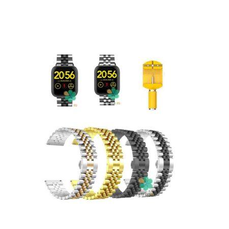 خرید بند فلزی ساعت شیائومی 1More Omthing E-Joy WOD001 مدل 5Rows