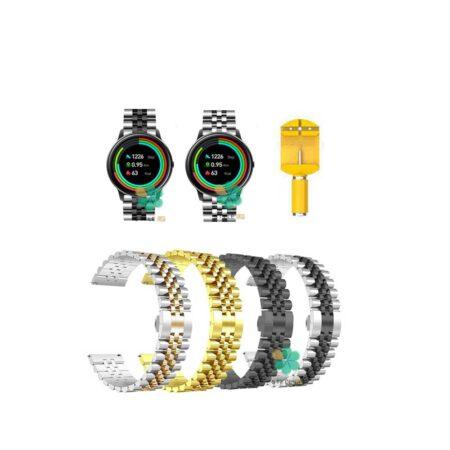 خرید بند فلزی ساعت شیائومی Xiaomi IMILAB KW66 مدل 5Rows